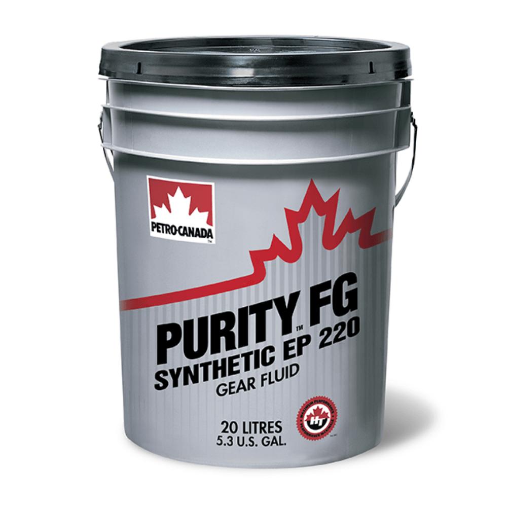 Petro-Canada PURITY FG Synthetic EP Gear Fluid 220