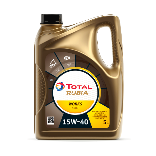 TOTAL RUBIA WORKS 1000 15W40