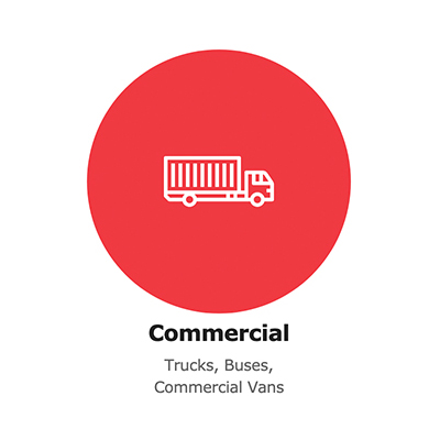 Commercial vehicle cateorgory
