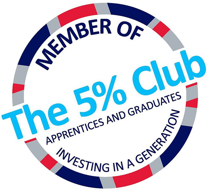 The 5% Club member logo