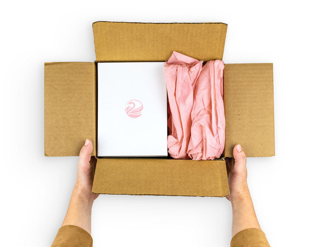 Protective tissue paper packaging