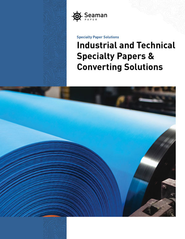 Industrial paper solutions brochure cover