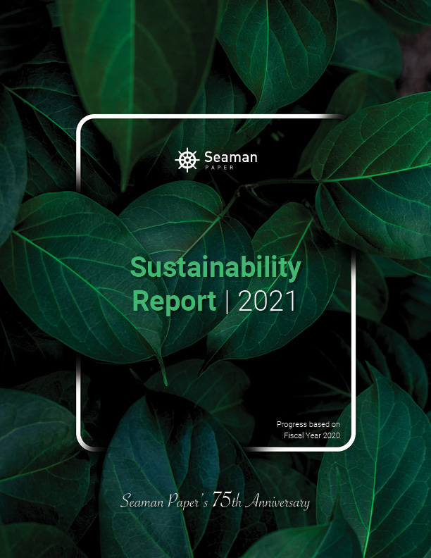 2021 sustainability report cover