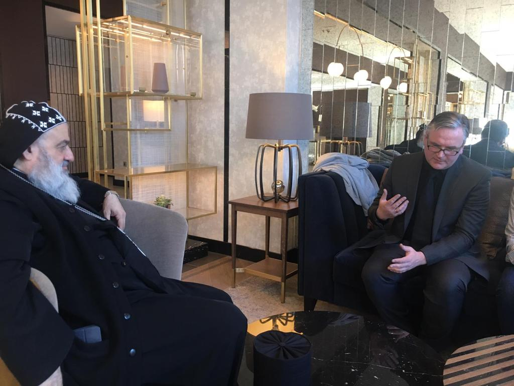 Gespräch mit dem Patriarch