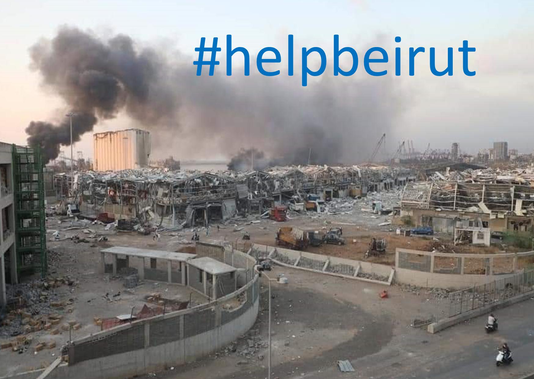 Hilfe für Beirut