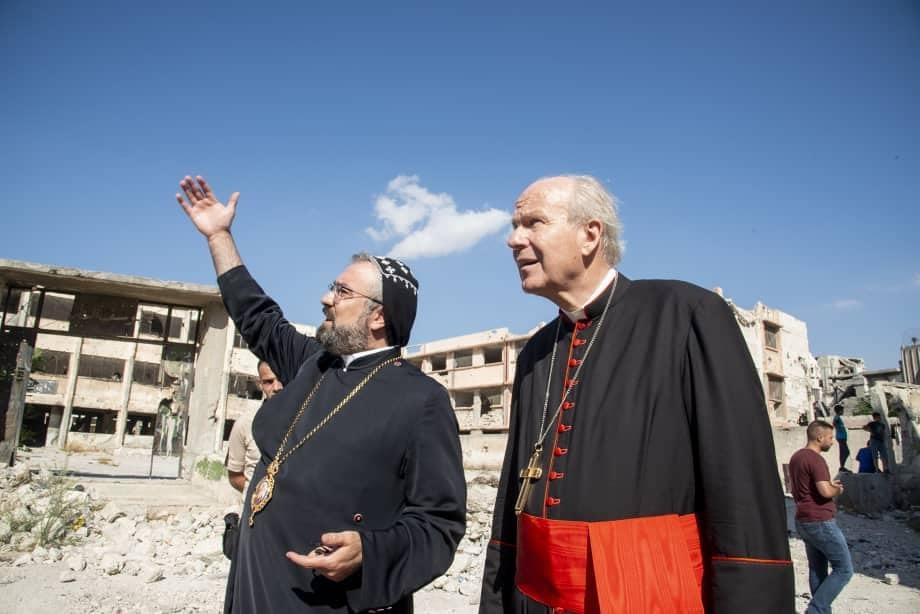 """Kardinal Schönborn fordert """"Marschall-Plan"""" für Syrien"""