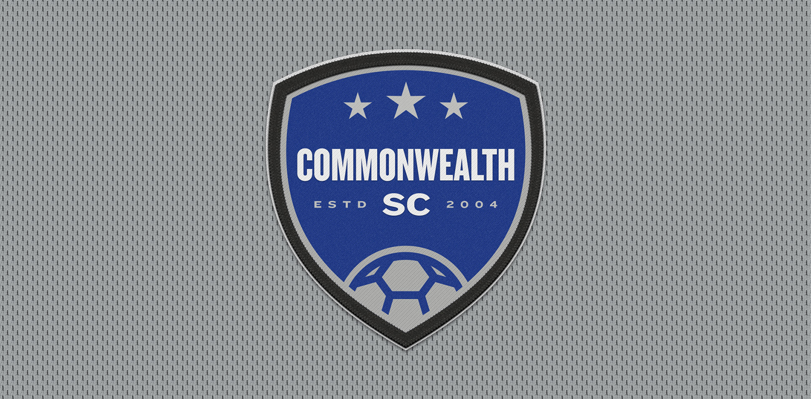Sports branding for Commonwealth Soccer Club in Lexington, KY