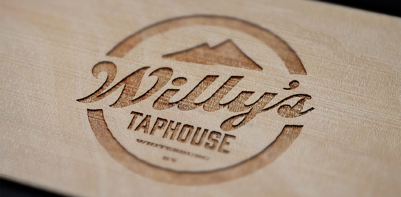 Brewery and beer branding for Whitesburg, KY taphouse Willy's Taphouse