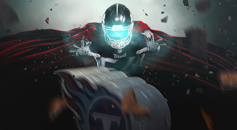 Sports Design / SMsports » Tennessee Titans National Super Hero Day Image