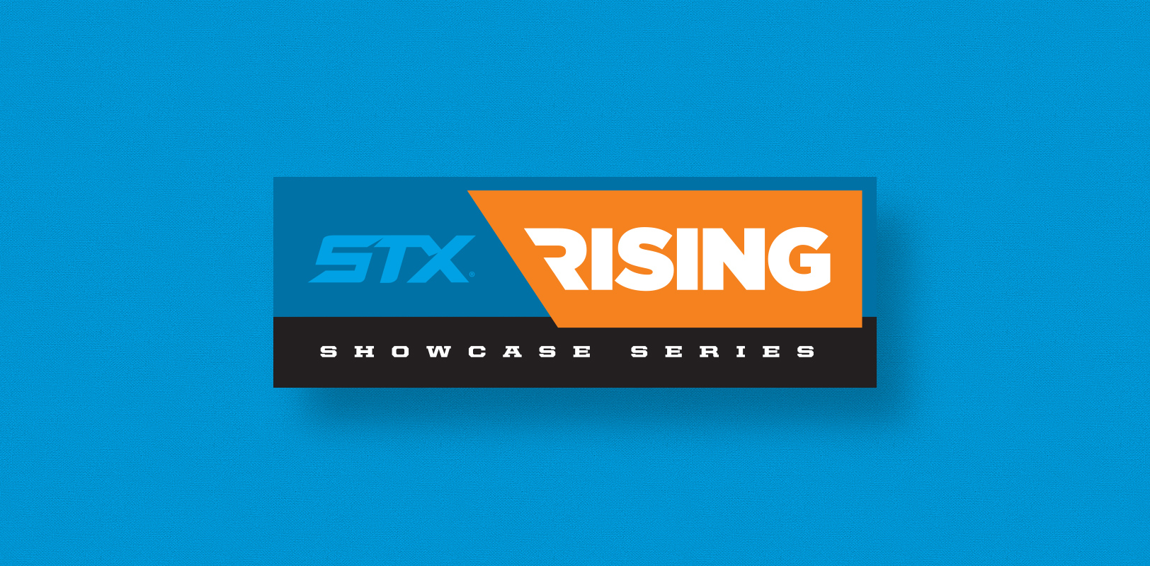 Sports logo design for the STX 3d Rising lacrosse showcase series