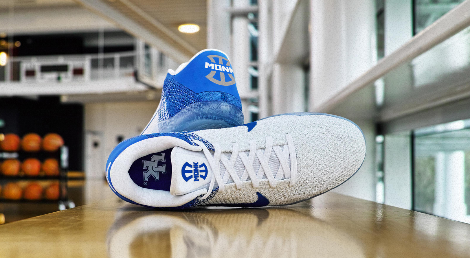 Sports Branding: Malik Monk Athlete Brand Identity on Kobe Sneakers