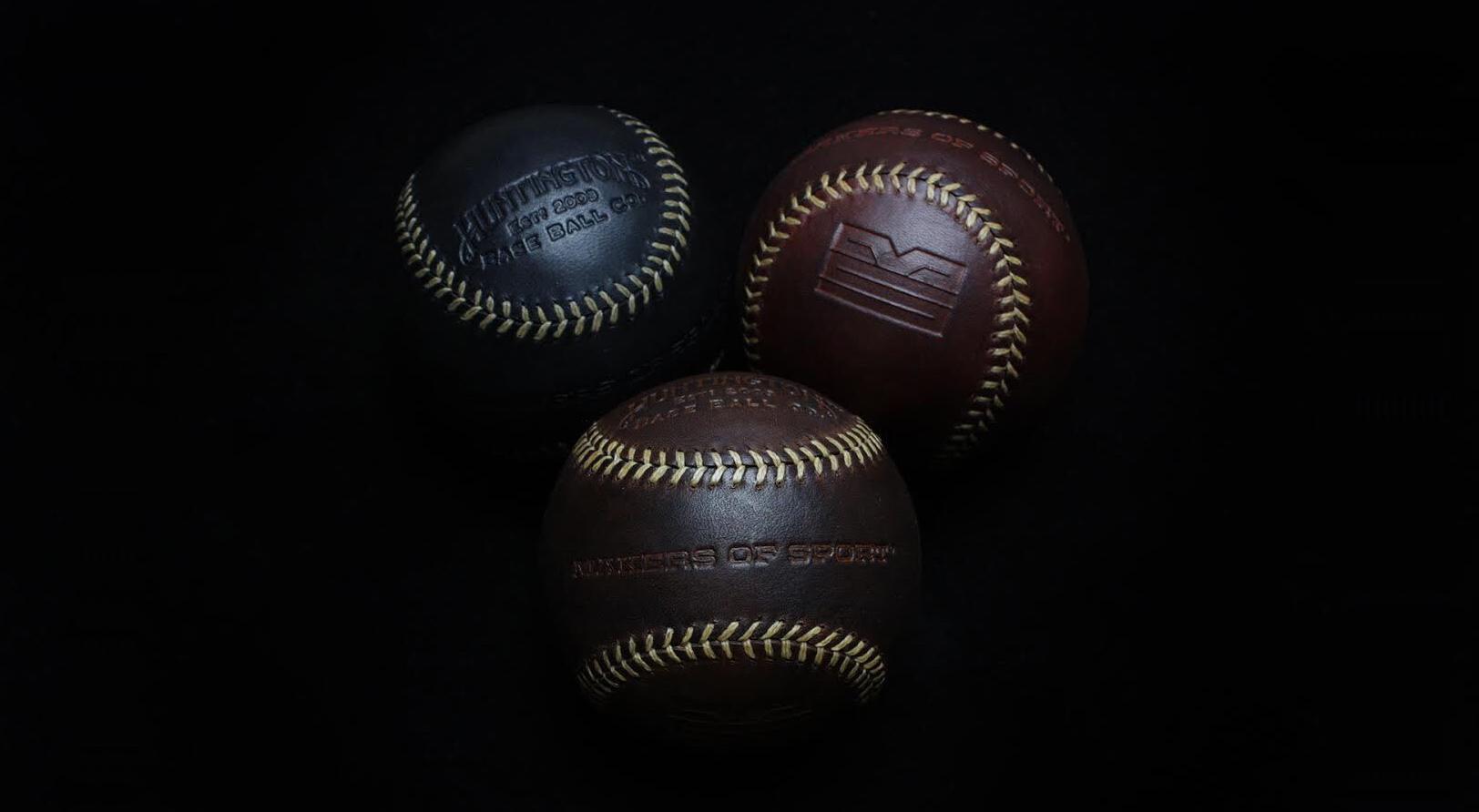 Makers of Sport® custom Huntington Baseball Co. baseballs
