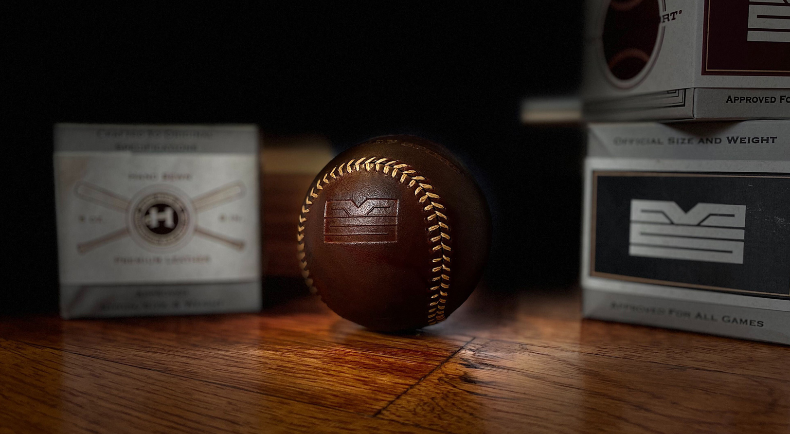 Makers of Sport® custom Huntington Baseball Co. baseballs and packaging