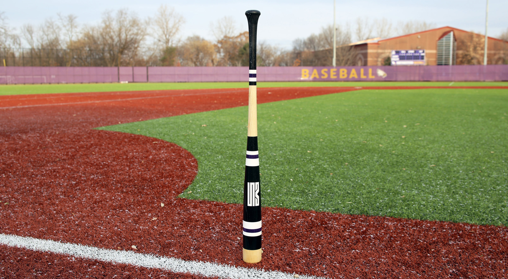 Makers of Sport® custom MItchell Bat Co. bat standing image