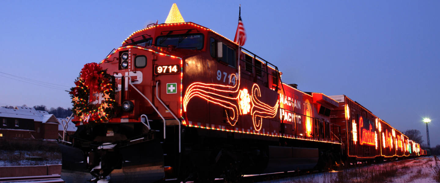 Mark your calendar! The CP Holiday Train is going virtual!