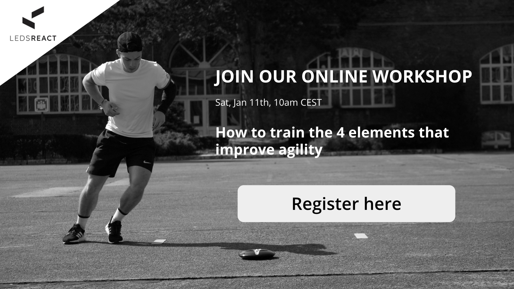 Join our online workshop about agility
