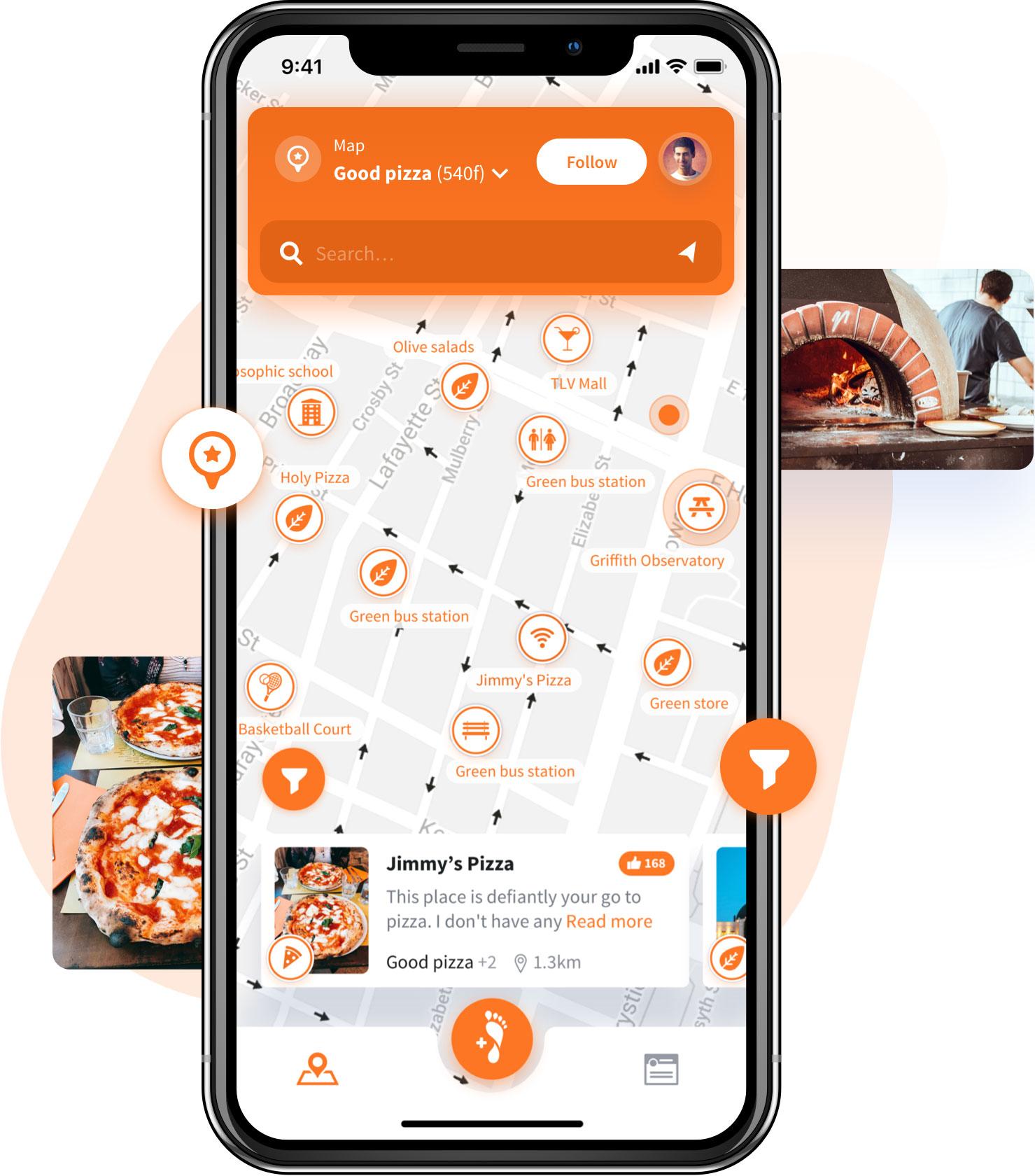 STEPS App Community Map Example
