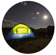 Camping Community Map Icon