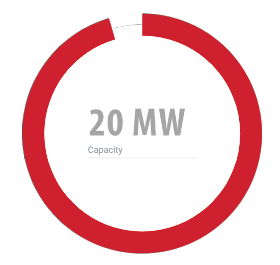20 MW Capacity