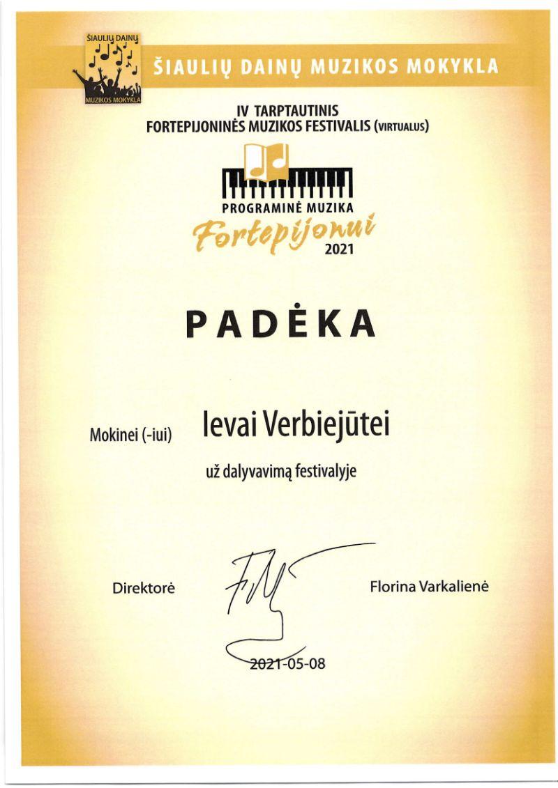 """IV tarptautinis fortepijoninės muzikos festivalis (virtualus) """"Programinė muzika fortepijonui"""""""