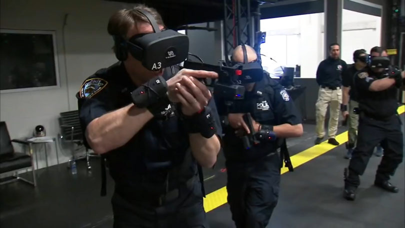 NYPD Uses VR for Active Shooter Training