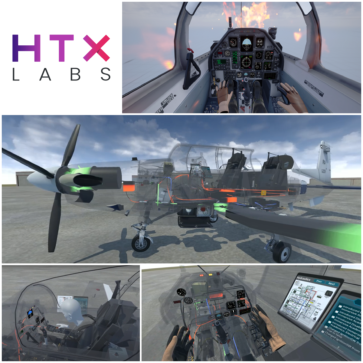HTX Labs Awarded SBIR Phase II Contract with the US Navy to Support Chief of Naval Air Training (CNATRA) Primary Flight Training Program