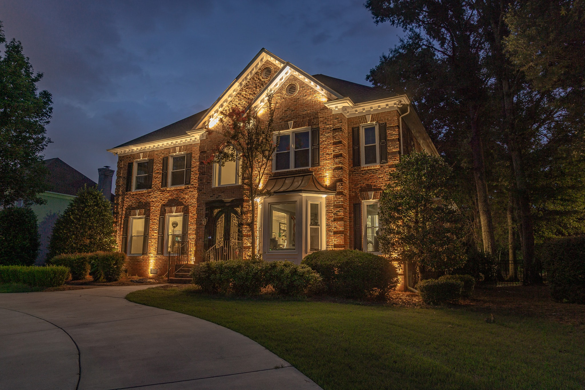 Two Story Lighting In Charlotte NC