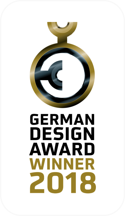 German Design Award Gewinner 2018 Logo