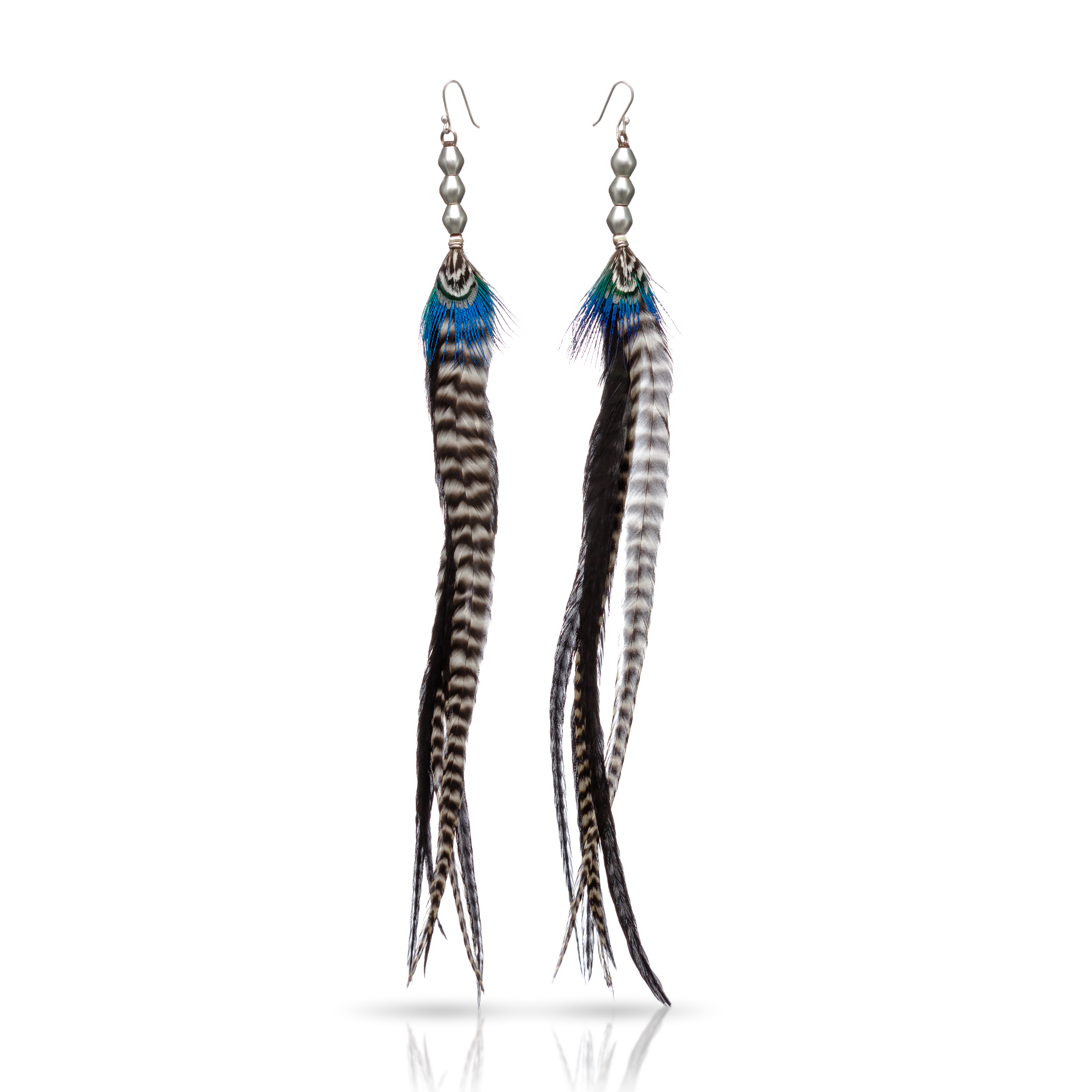 Earrings product photography