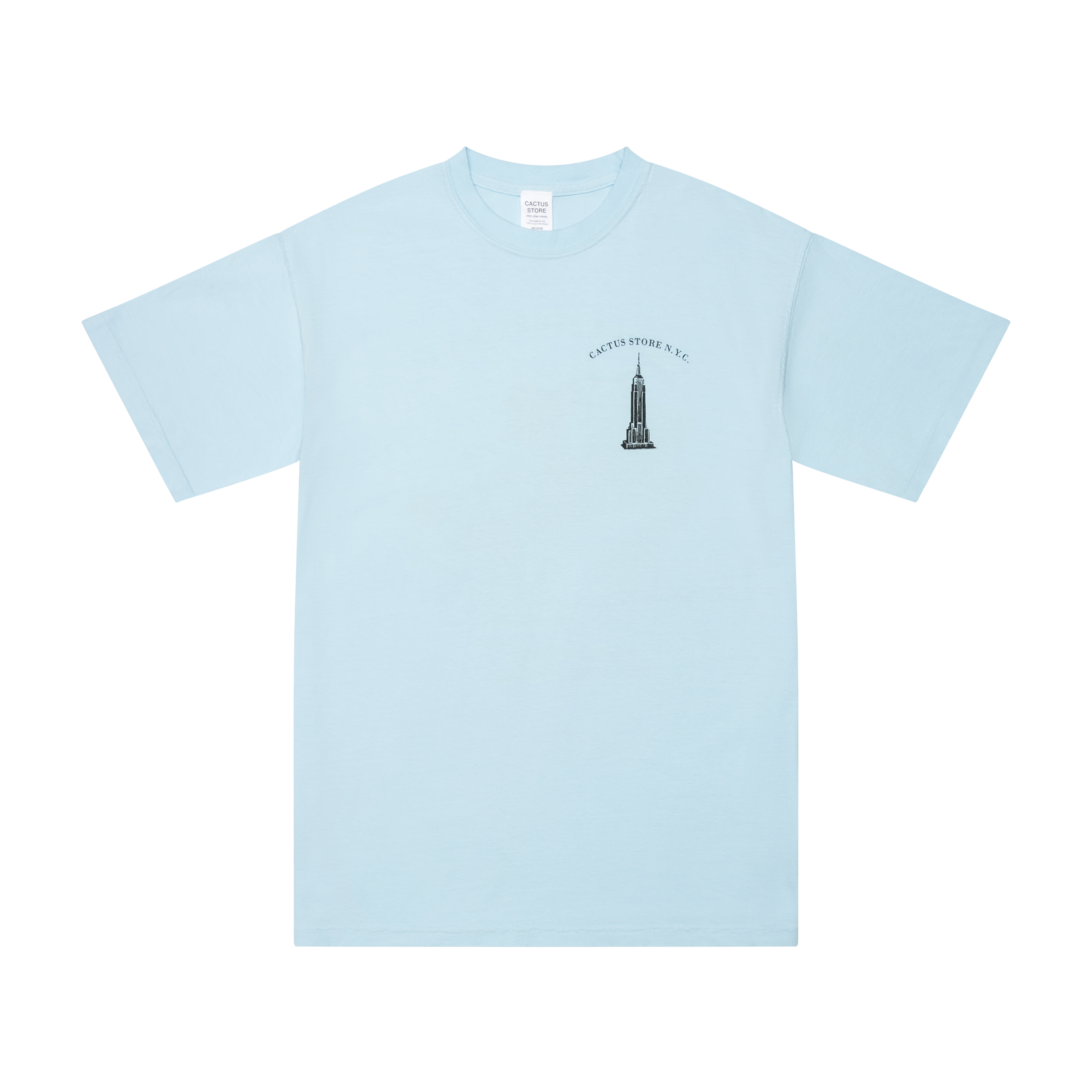 Flat lay t-shirt product picture