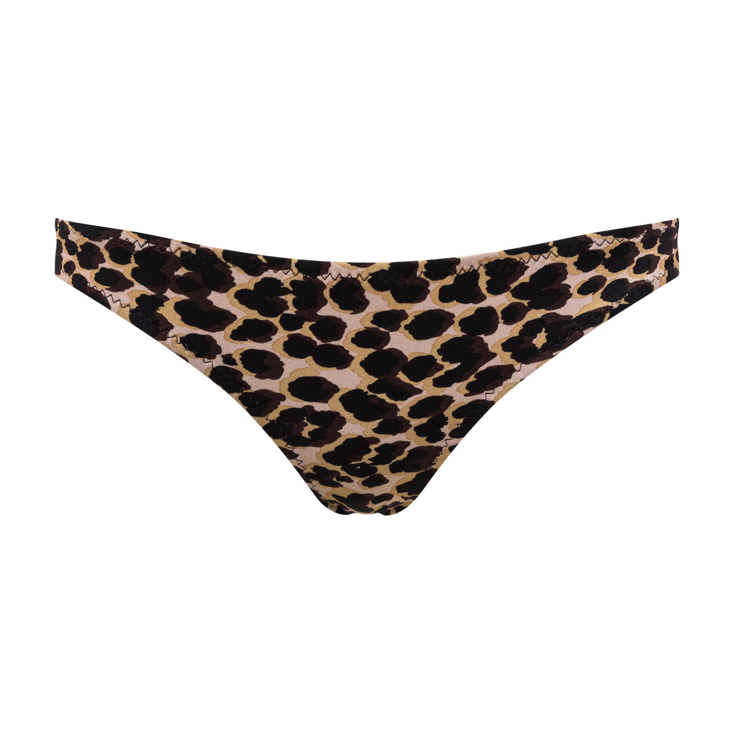 Animalistic print swimwear product photography