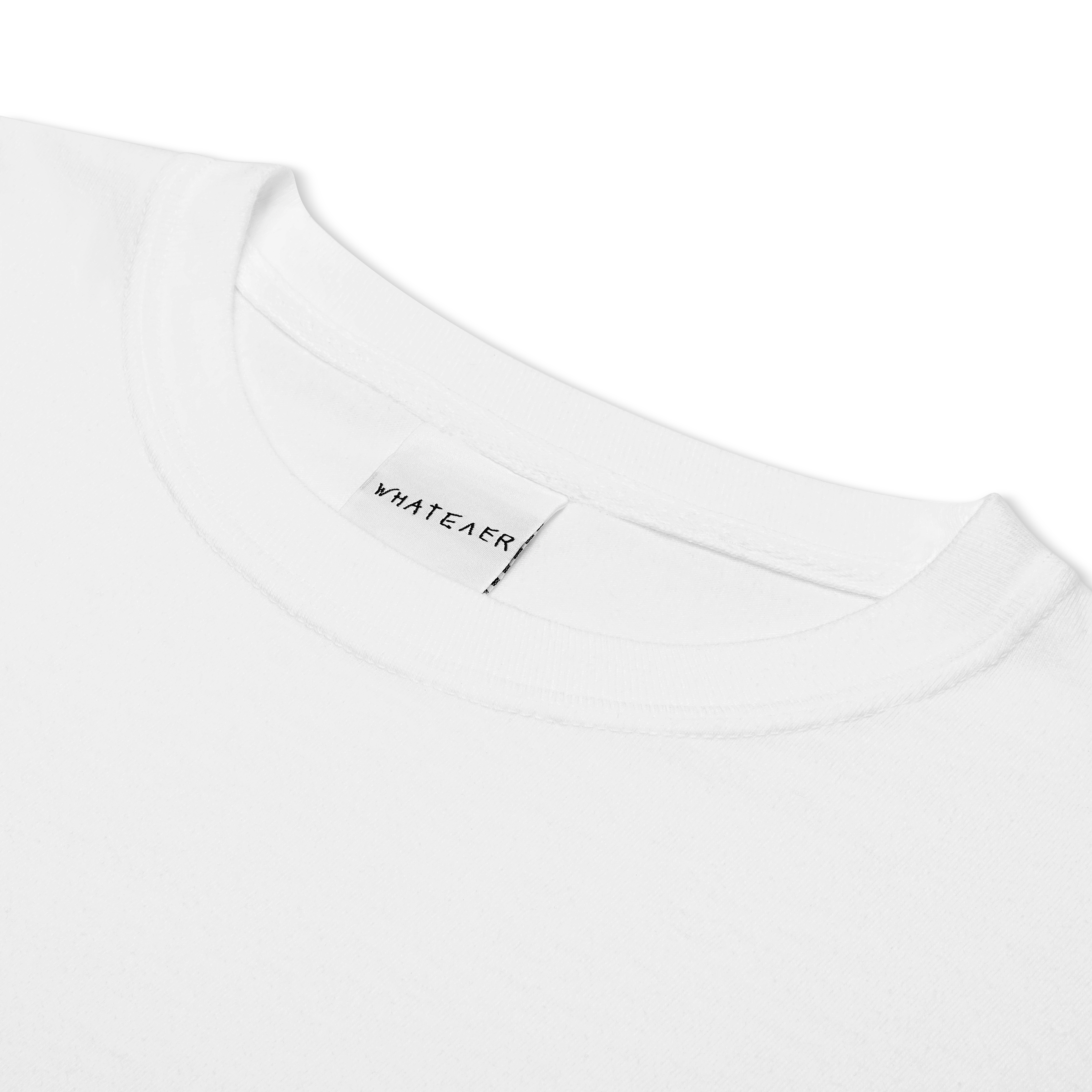 white t-shirt product photo