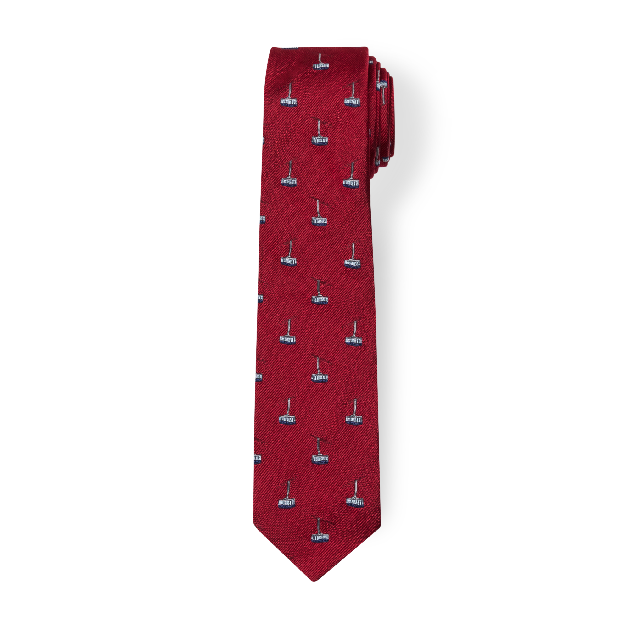 red tie product photography