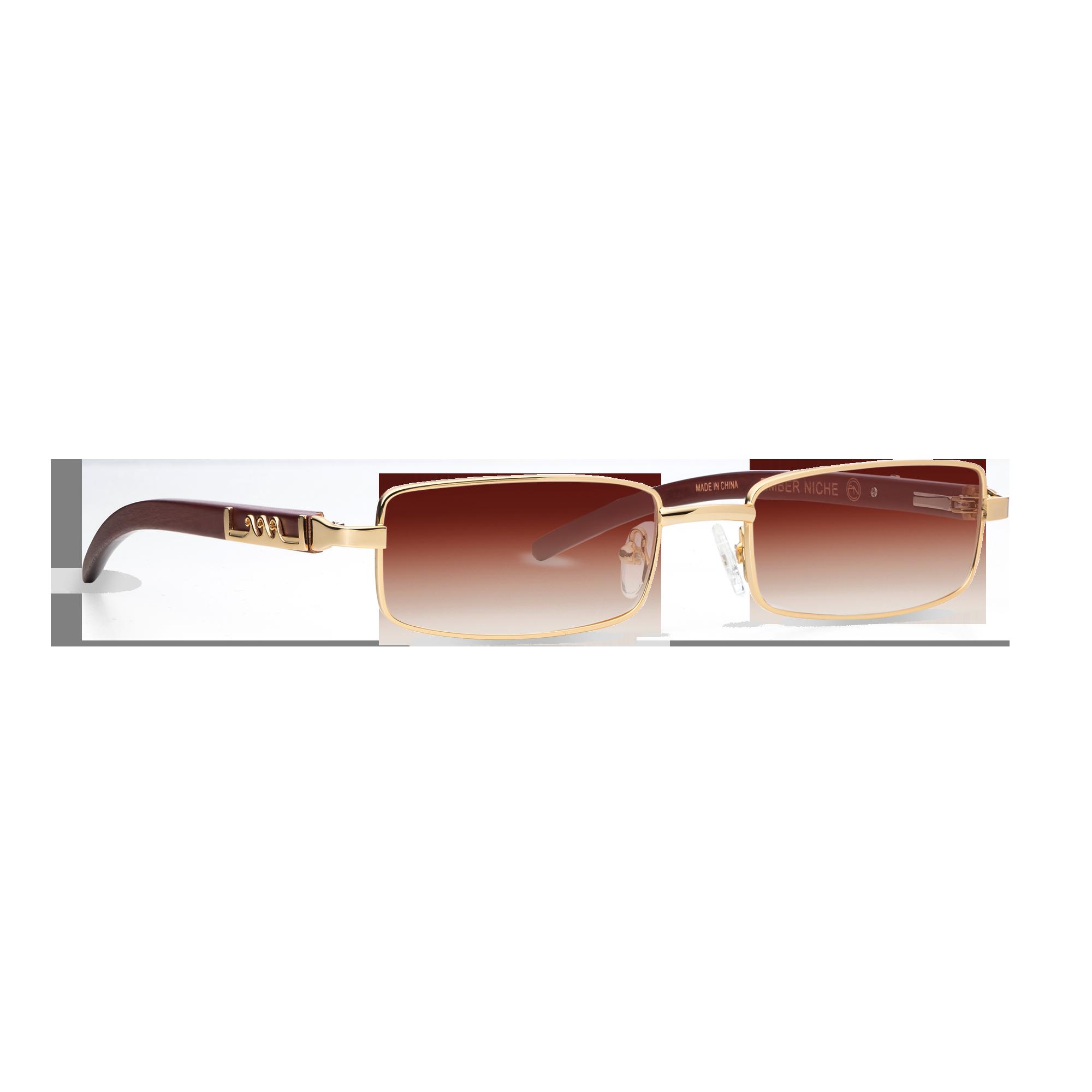 gold sunglasses product photo