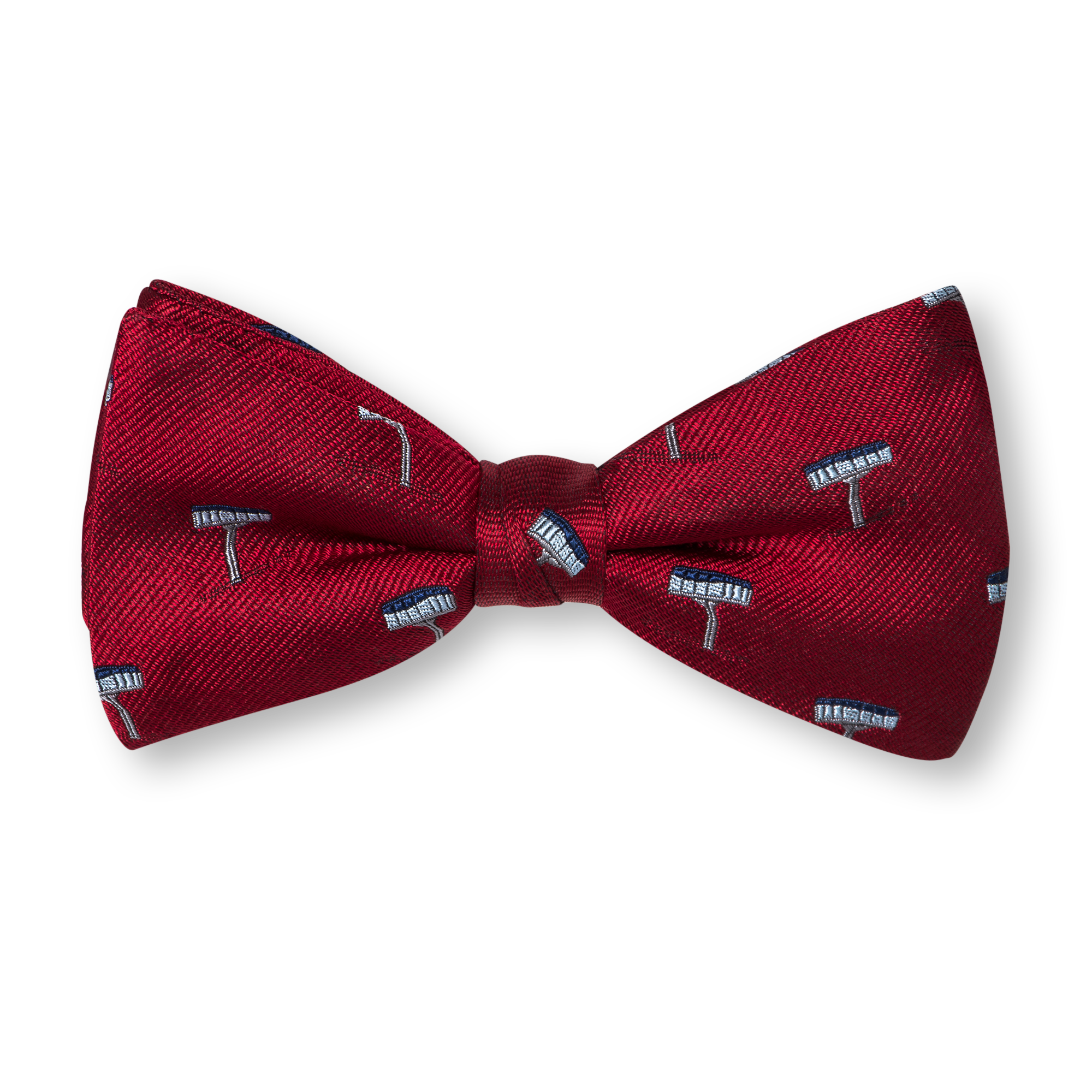 red Bow ties product photography