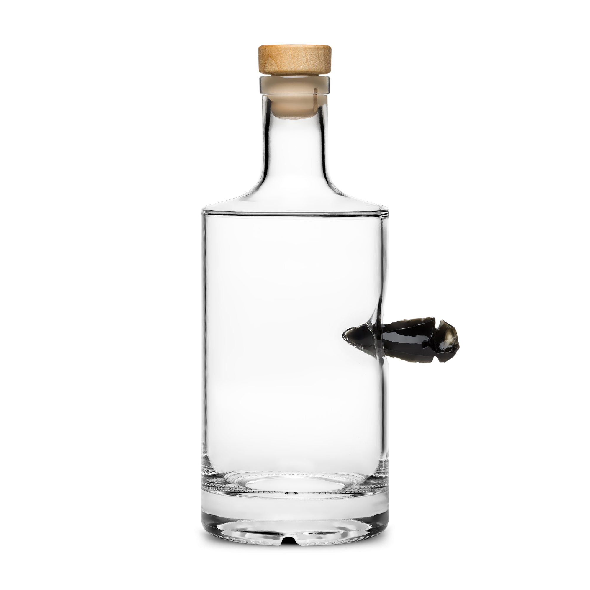 Clear bottle product image