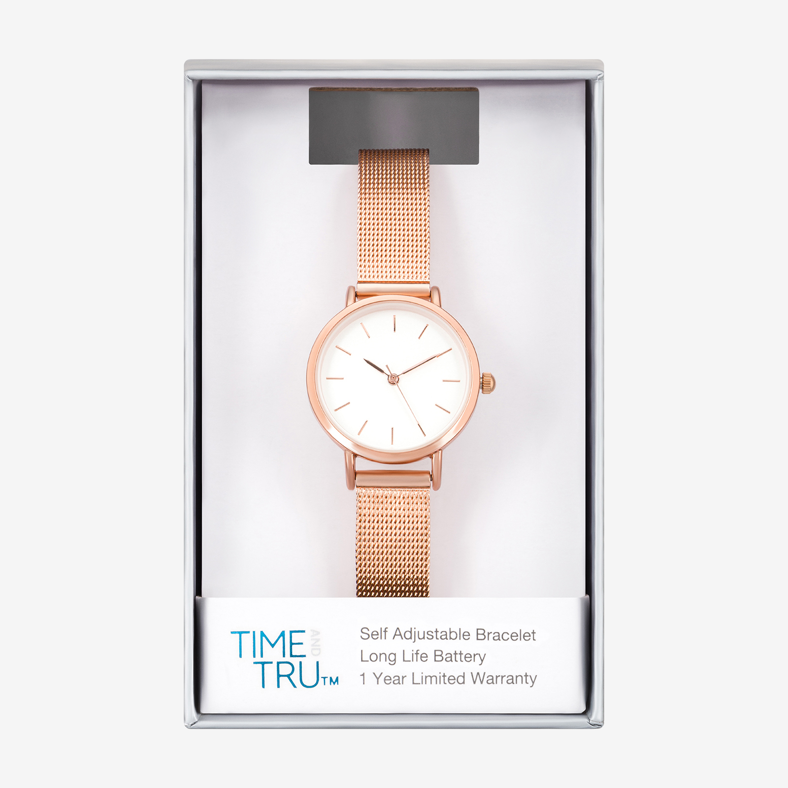 Gold watch product photography