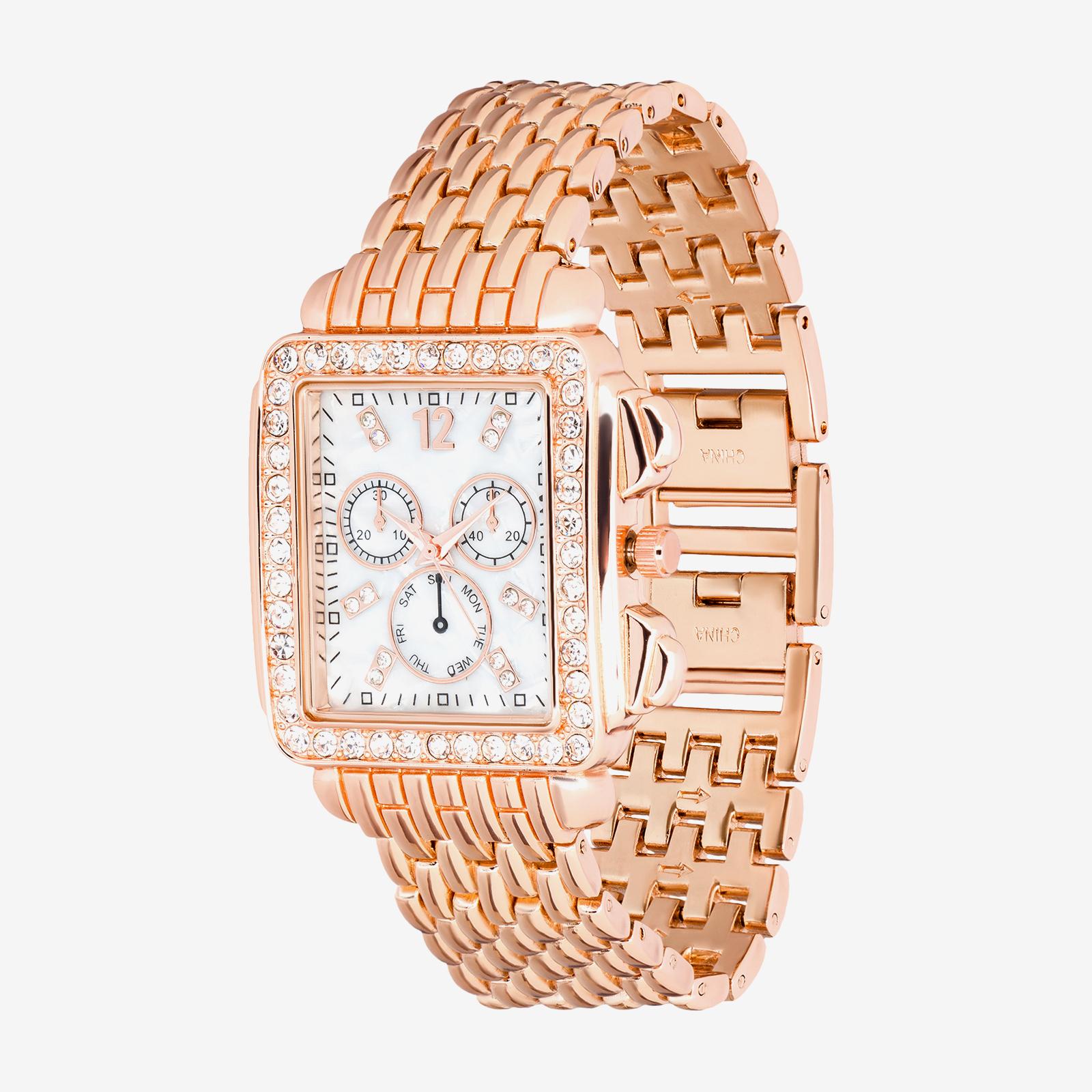 Diamond watch product photography