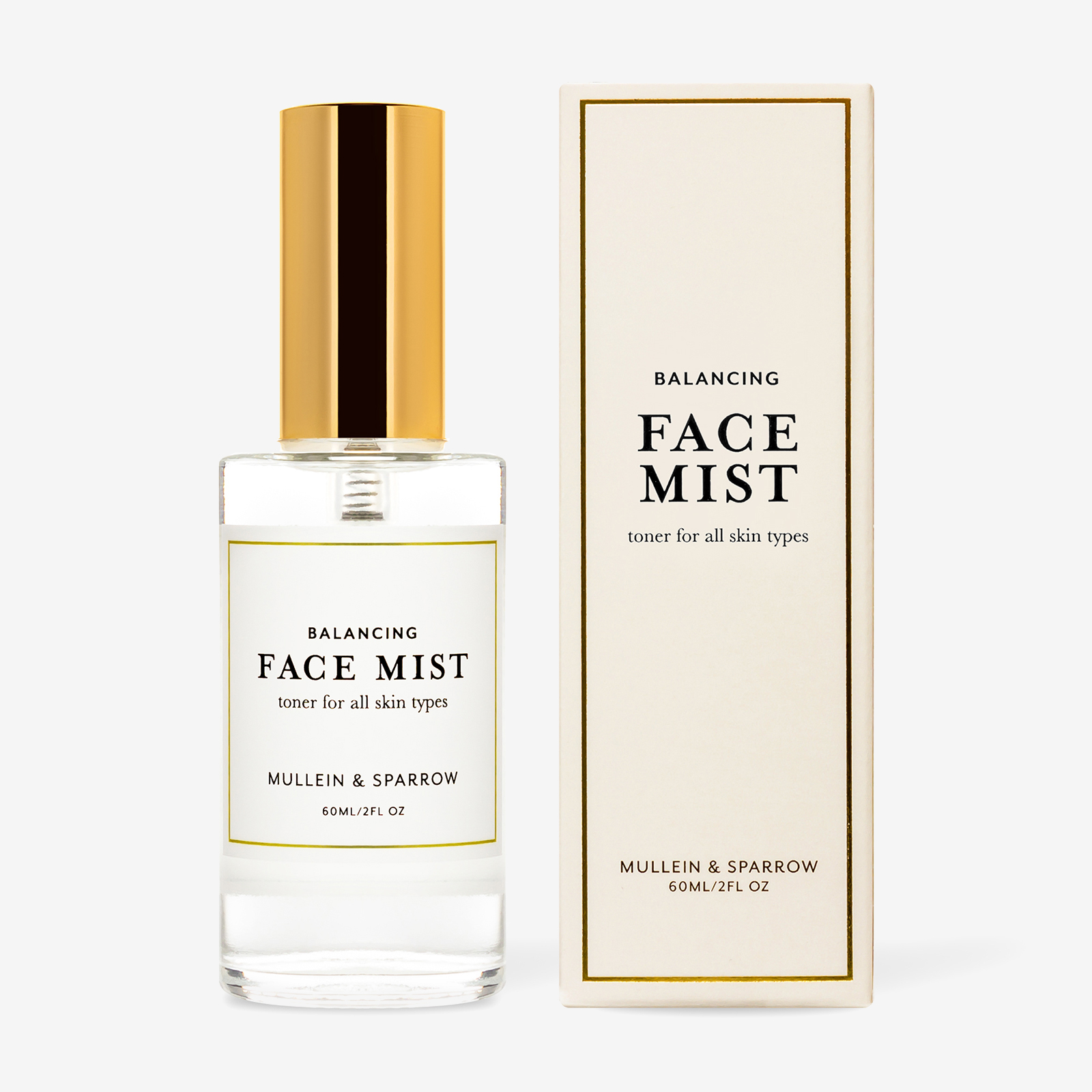 Face mist product photography