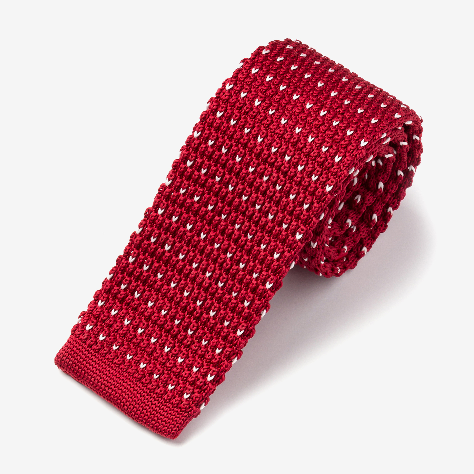 Red tie product photo