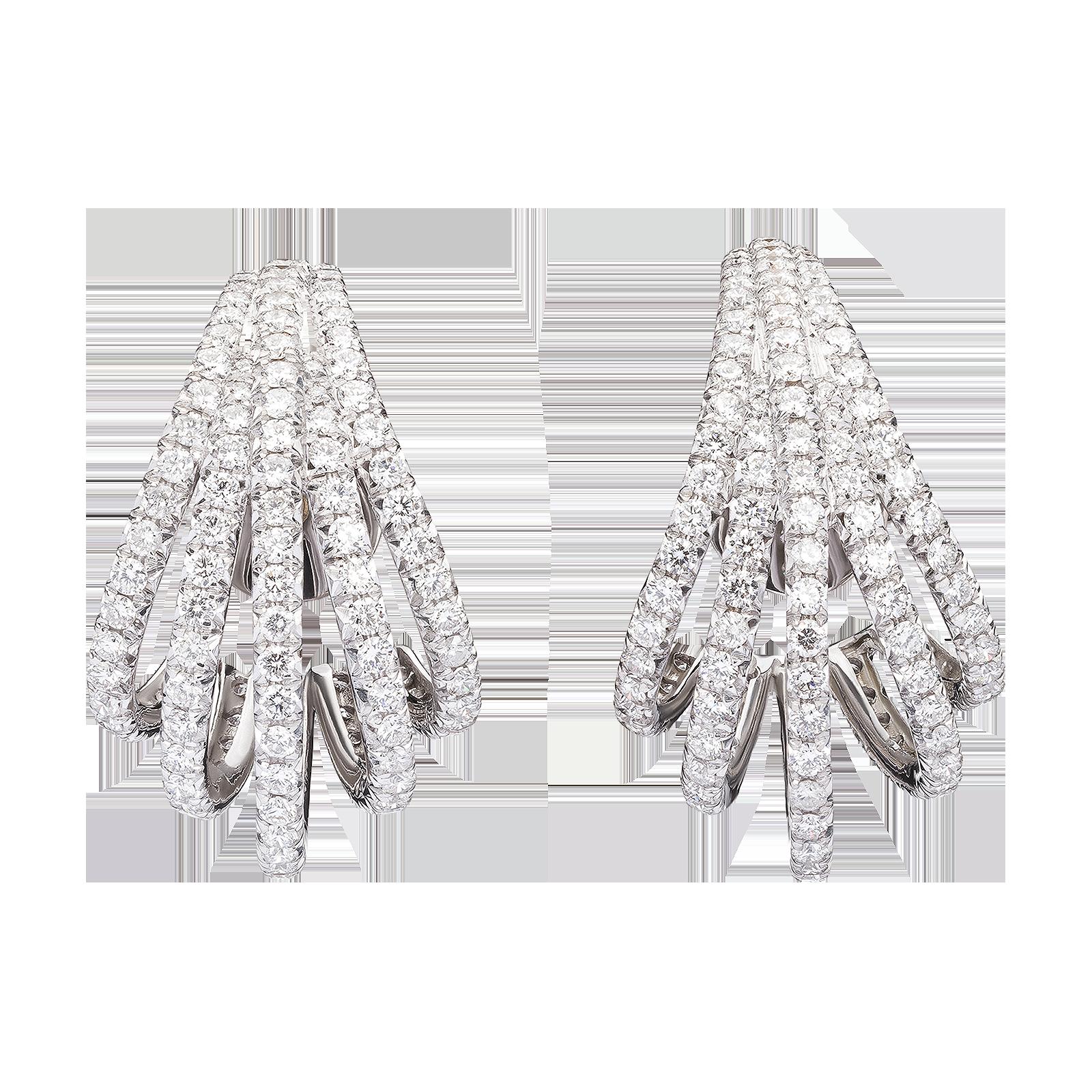 Diamond earrings product image