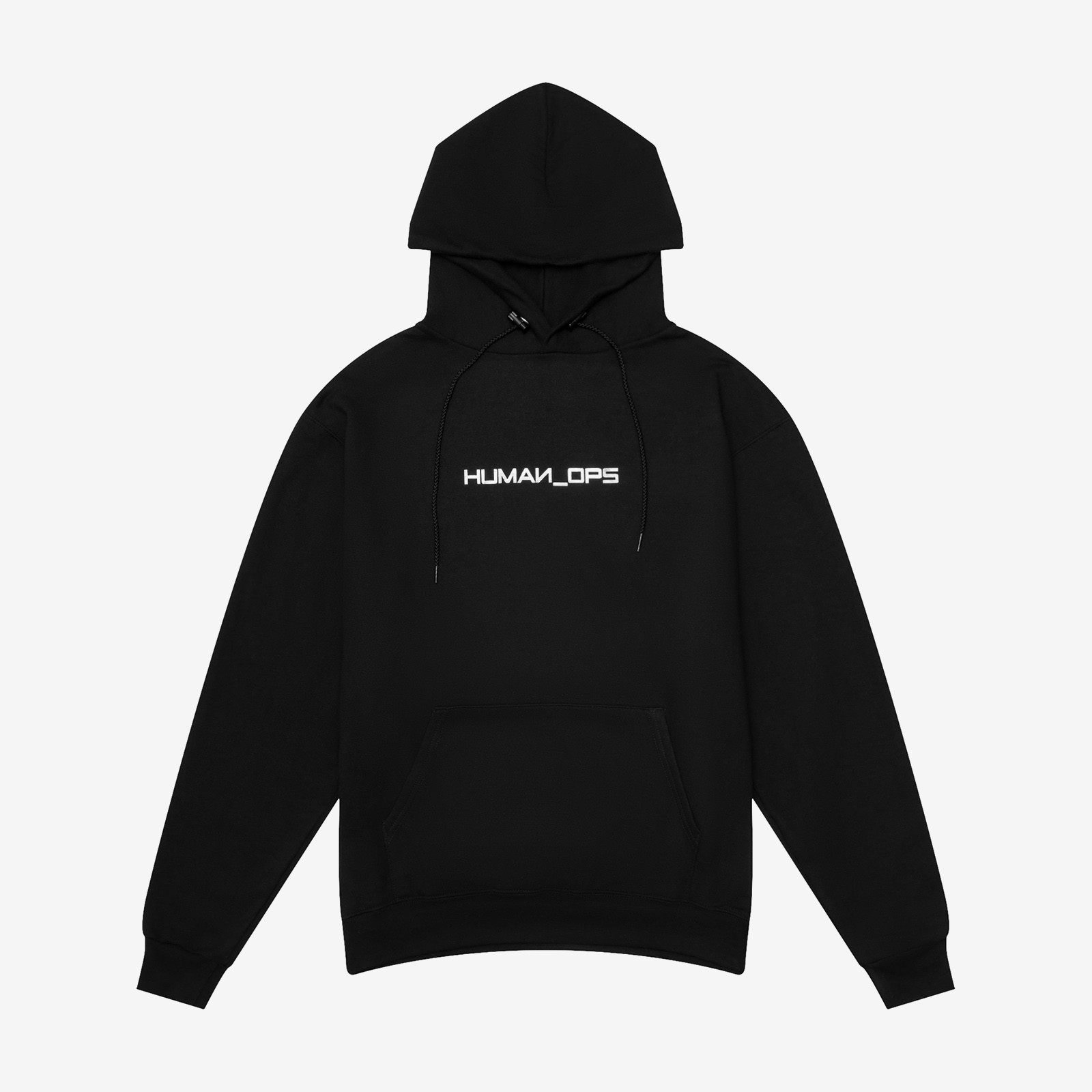 Hoodie flat lay product picture