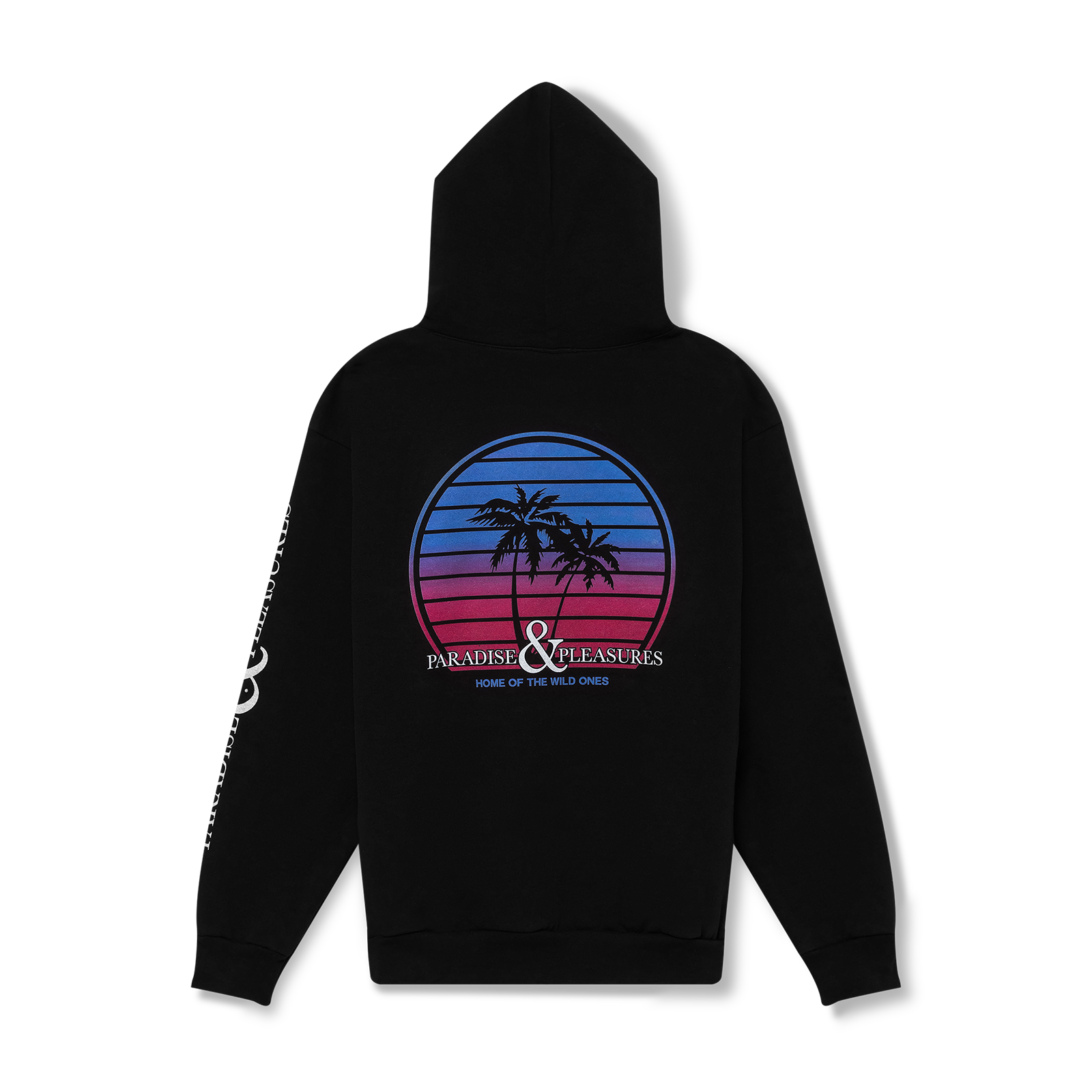 Flat lay hoodie product picture