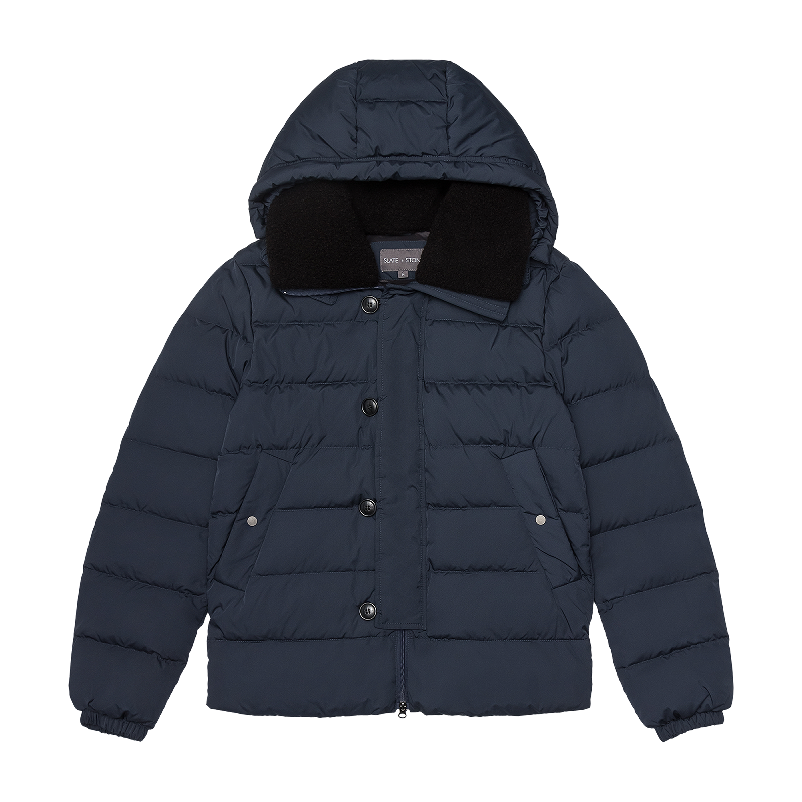 Puffer coat product photography