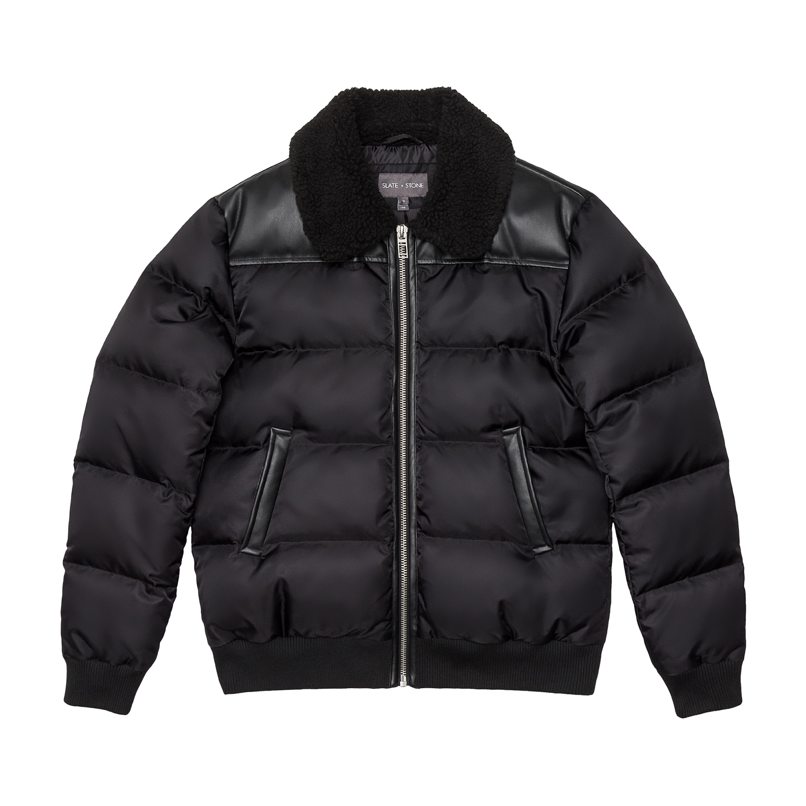 Puffer jacket product photo