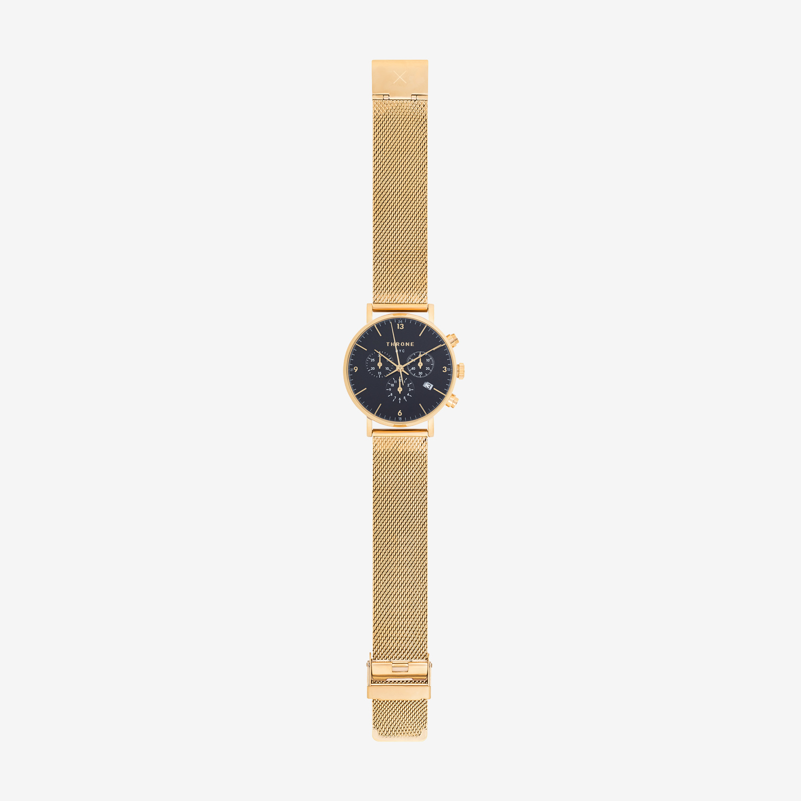 Golden watch product image