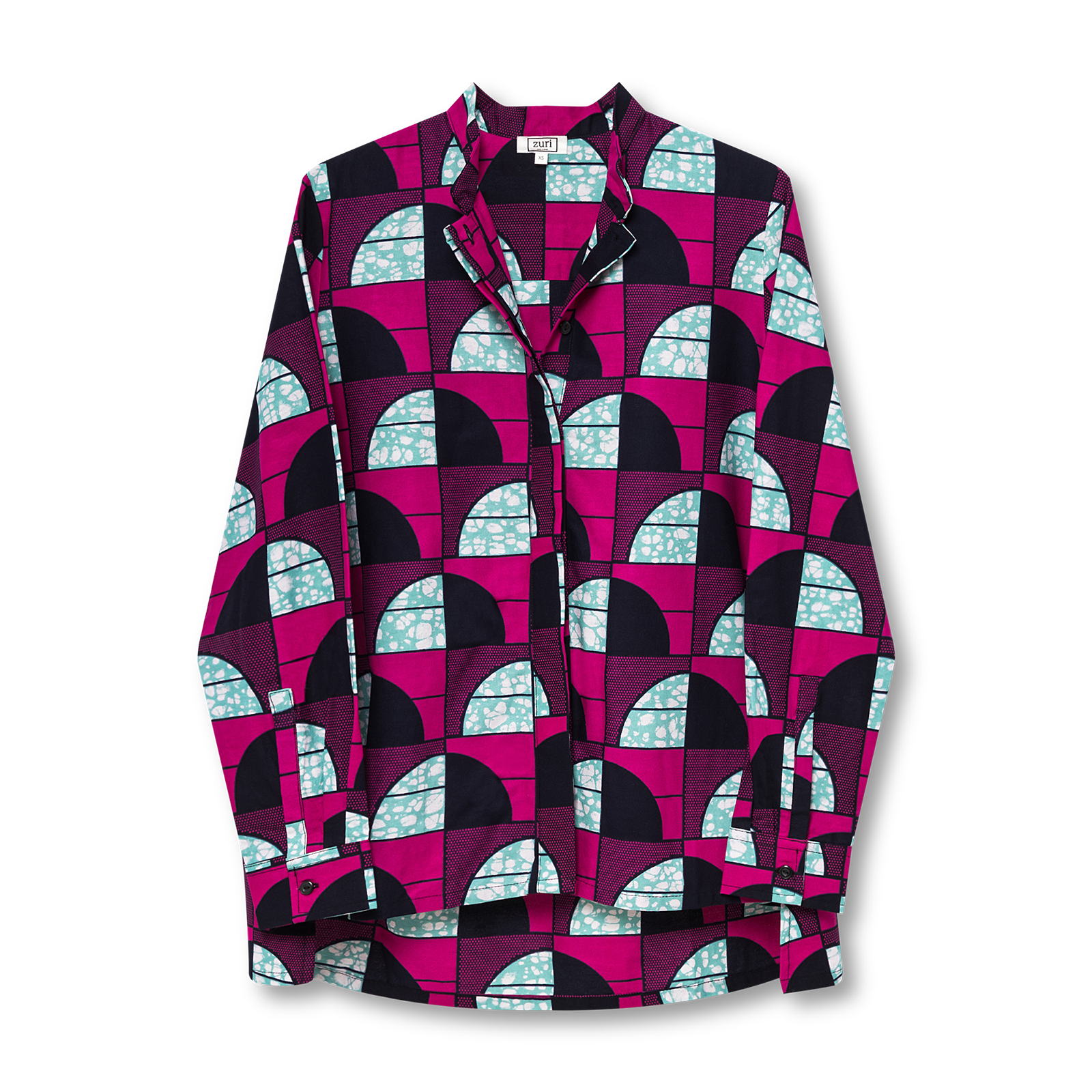Pinned shirt product photography