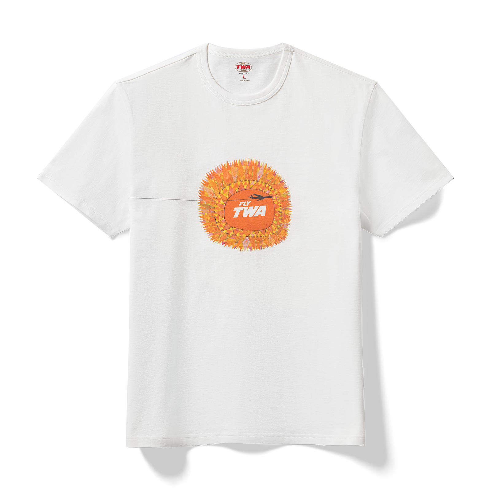 Pinned t-shirt product photography