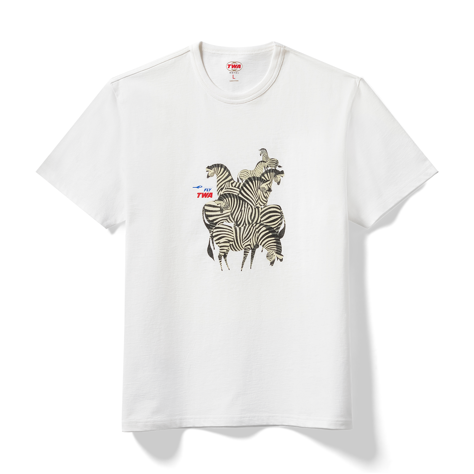 Pinned t-shirt product photo