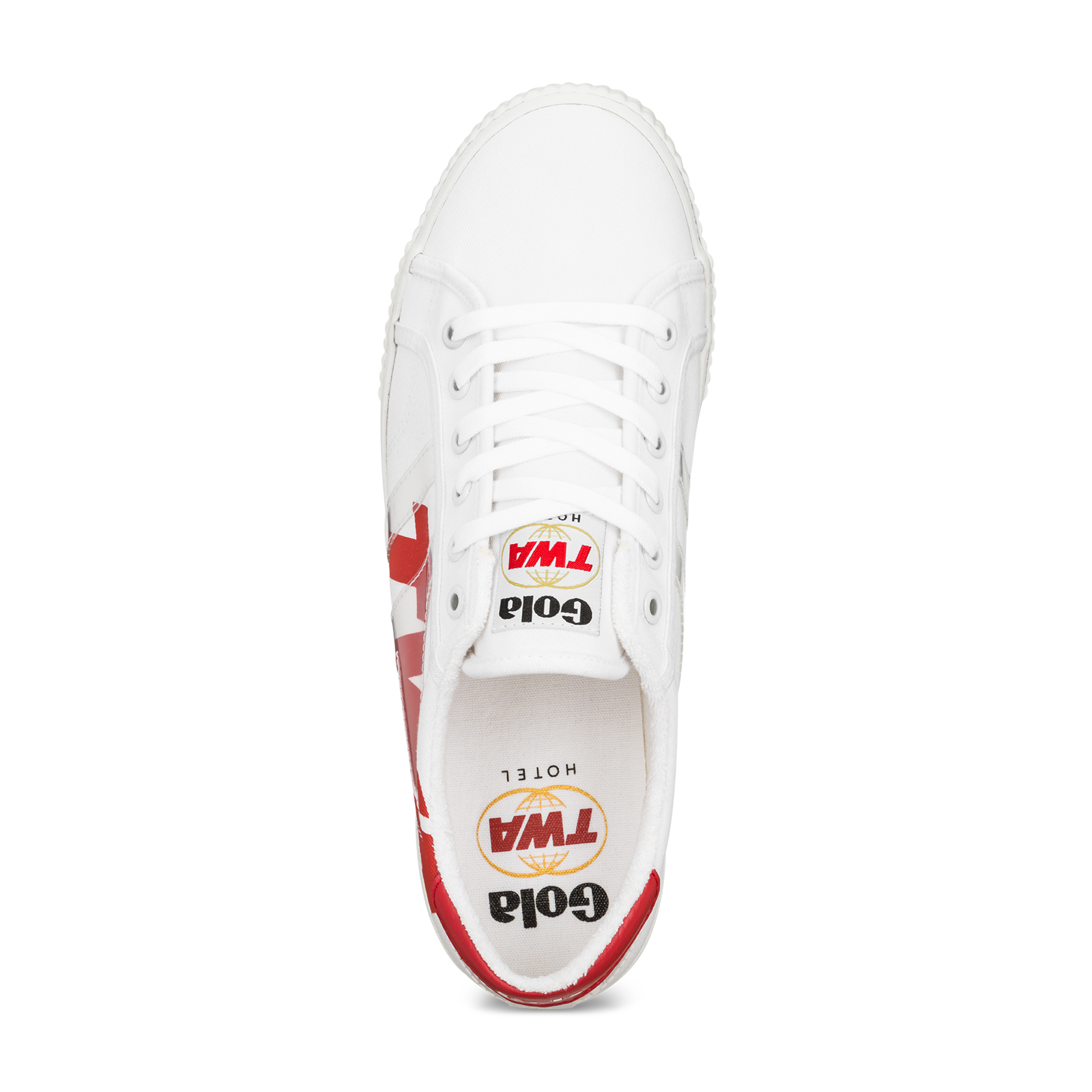 White sneaker product image